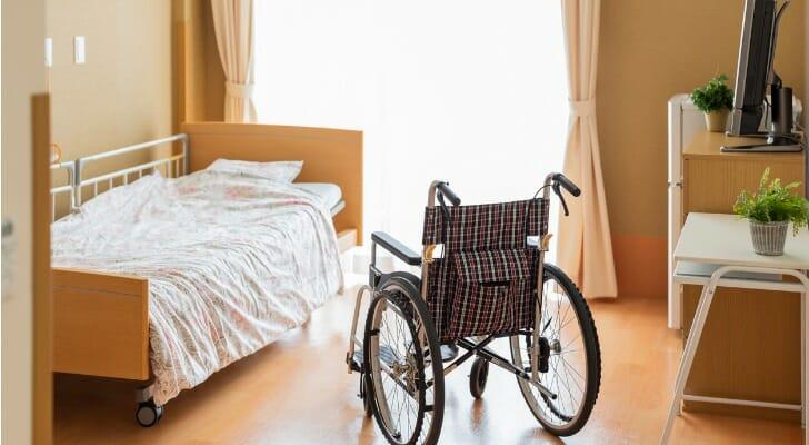 Senior care living area
